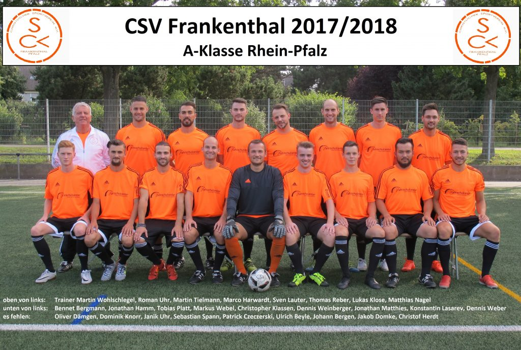 Csv Frankenthal Christlicher Sportverein In Frankenthal